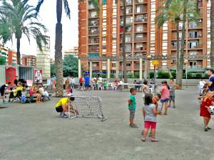 estiu a la plaça