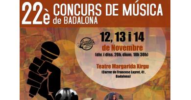 El Concurs de Música BDN presenta les finals 2021